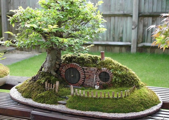 Ideia para fazer mini jardim