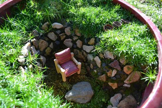 Lindos mini jardins criativos