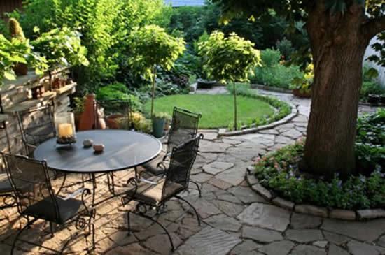 Área de lazer para jardim