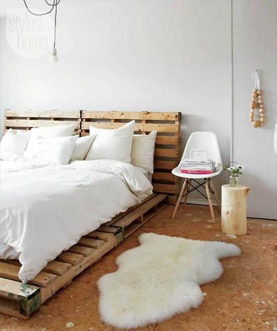 Ideias com pallets para decoração da casa