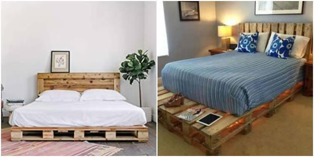 12 inspirações lindas de cama com pallets