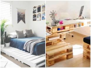 Ideias de decoração para a casa com pallets