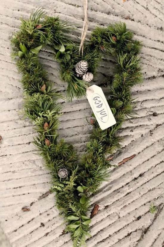 Ideias de decoração de Natal para jardim