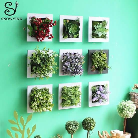 Dicas e ideias para fazer parede decorada com plantas