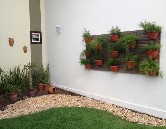 Dicas criativas para fazer parede decorada com plantas