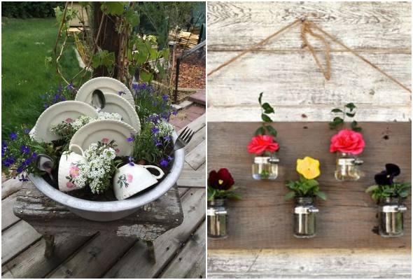 Como decorar jardim com criatividade
