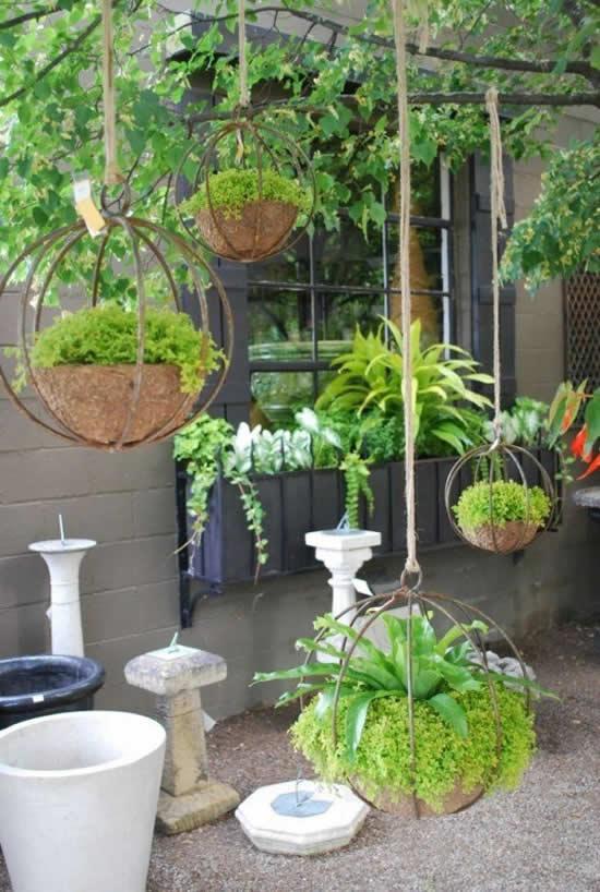 Decore sua casa com vasinhos pendurados
