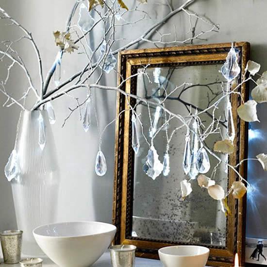 Como fazer Árvore de Natal com galhos secos