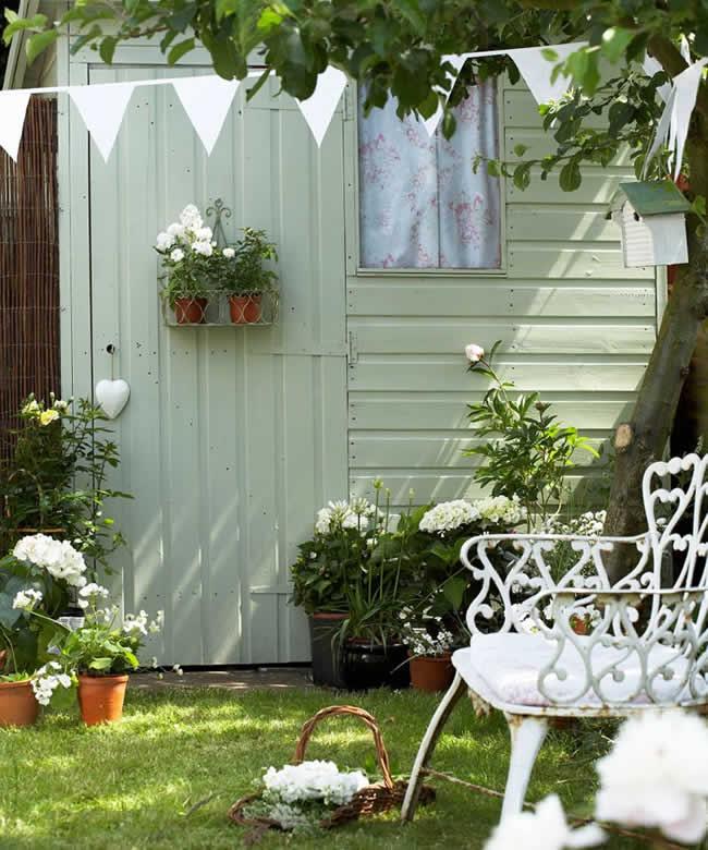 Ideias para decoração de jardim e quintal pequeno