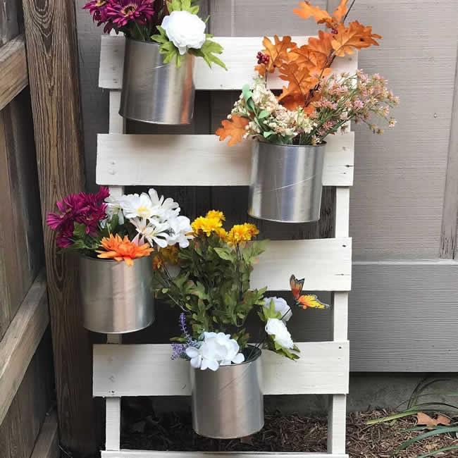 Ideia para decorar jardim pequeno